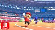 Mario & Sonic Tokyo 2020 New Tokyo 2020 Olympic Games Debut Trailer for Nintendo Switch HD