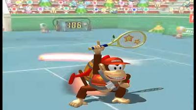 Mario Power Tennis All Power Shots Special Moves-screenshot
