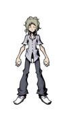 The World Ends with You Final Remix - Character Art - Joshua 3