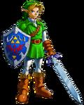 The Legend of Zelda Ocarina of Time 3D - Character artwork 01
