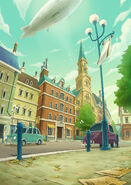Layton's Mystery Journey Katrielle and the Millionaires' Conspiracy - Key art 01 (Blank)