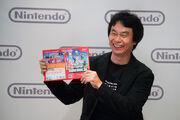 NSMBW Miyamoto