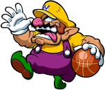Wario Artwork - Mario Hoops 3-on-3