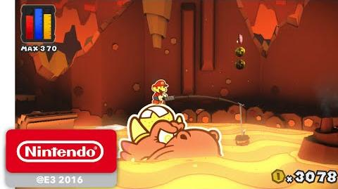 Paper Mario Color Splash - Official Game Trailer - Nintendo E3 2016