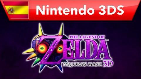 The Legend of Zelda Majora's Mask 3D - Tráiler presentación (Nintendo 3DS)
