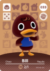 Animal Crossing Amiibo Card 033