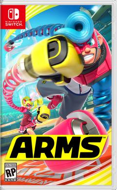 ARMS Caratula Switch-trans