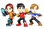 SSB - Mii Fighters