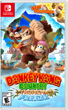 Donkey Kong Country Tropical Freeze - Switch (NA)