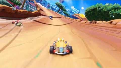Team sonic racing LEAKED gameplay