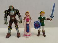 Toybiz Ganon Link and Zelda