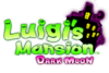 Luigi's Mansion Dark Moon logo