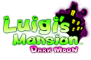 Luigi's Mansion Dark Moon logo