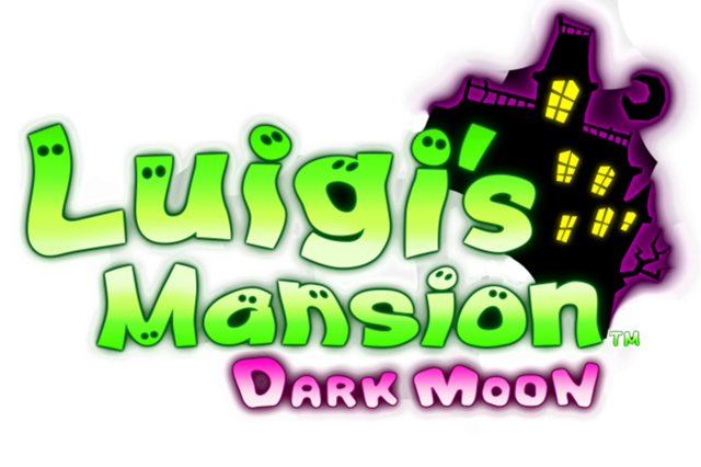 image luigi s mansion dark moon logo png nintendo fandom