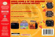 Namco Museum Nintendo 64 Boxart