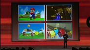 Super Mario 3DS screens