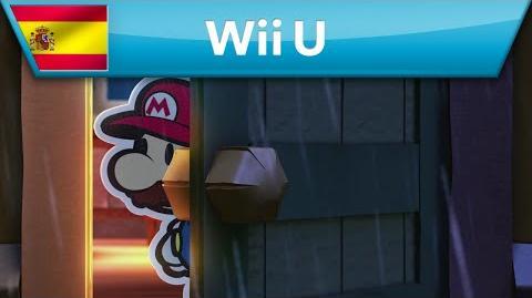 Paper Mario Color Splash - Tráiler del E3 2016 (Wii U)