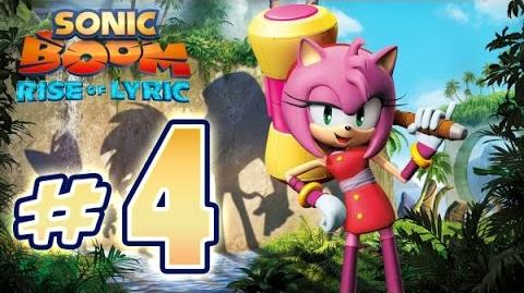 Sonic Boom Rise of Lyric (WiiU) Gameplay No Commentary Walkthrough Part 4