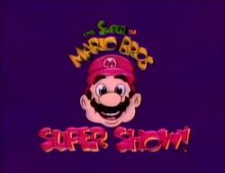 Super Mario Bros. Super Show (Title Card)