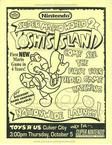 Yoshis Island Poster