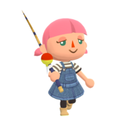 Animal Crossing - Pocket Camp - Character Artwork - Player - Girl 05
