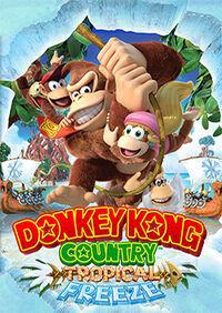 Donkey Kong Country Tropical Freeze boxarta