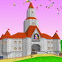 Princess Peach Castle portal icon