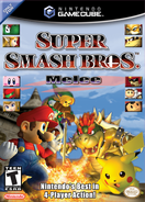 Super Smash Bros. Melee - NA Boxart