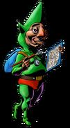 The Legend of Zelda Majora's Mask 3D - Character artwork 30