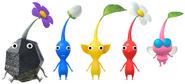 Hey! Pikmin - Character artwork 06