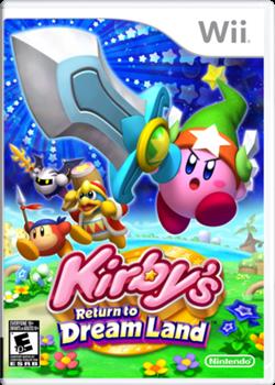 Kirby's Return to Dream Land Portada