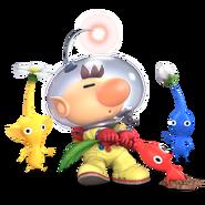Super Smash Bros. Ultimate - Character Art - Olimar