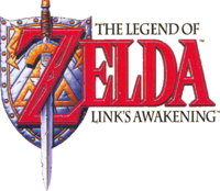 The Legend of Zelda Link's Awakening Logo