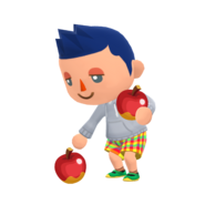 Animal Crossing - Pocket Camp - Character Artwork - Player - Boy 08