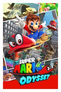 Super Mario Odyssey - Key Art 01 (E3 2017)