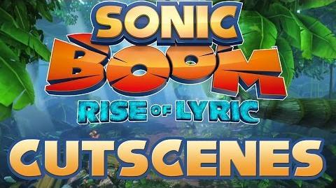 Sonic Boom Rise of Lyric (Wii U) - All Cutscenes