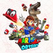 Super Mario Odyssey - Key Art 07