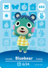 Animal Crossing Amiibo Card 032