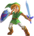 Link (The Legend of Zelda A Link Between Worlds)
