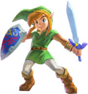 Link (The Legend of Zelda A Link Between Worlds)