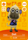 Animal Crossing Amiibo Card 035