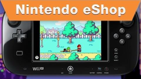 Nintendo eShop - Mario & Luigi Superstar Saga on the Wii U Virtual Console