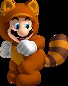 SM3DL Tanooki Mario