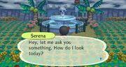Serena on Fountain