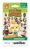 Amiibo - Card - Animal Crossing pack series 1 - 6 cards