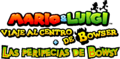 Logo de Mario and Luigi Bowser's Inside Story Bowser Jr's Journey