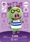 Animal Crossing Amiibo Card 074