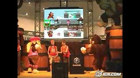 Donkey Konga 2 GameCube Gameplay - World Hobby Fair -- the