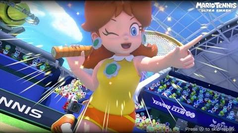 Mario Tennis Ultra Smash Walkthrough Part 7 - Knockout Challenge (Unlocking Star Daisy)