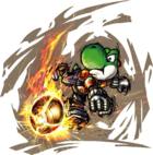 Yoshi - Mario Strikers Charged